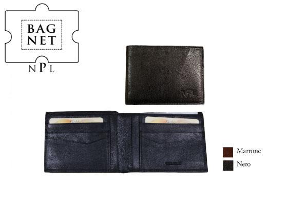 Portafoglio porta carte di credito NPL Alce