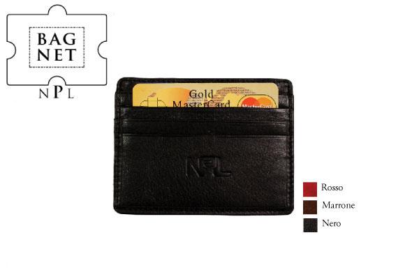Porta carte di credito piatto NPL Alce