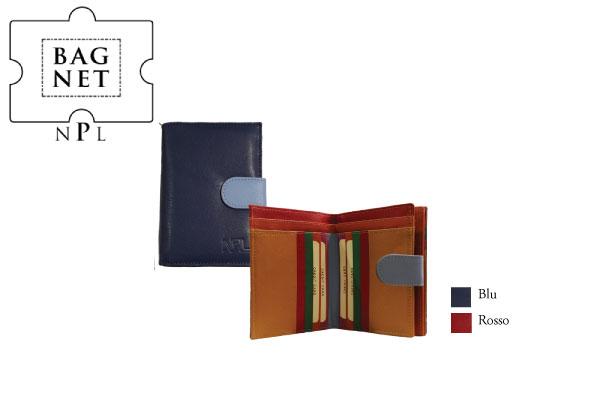 Portafoglio porta carte di credito NPL Multicolor