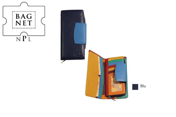 Portafoglio porta carte di credito grande NPL Multicolor