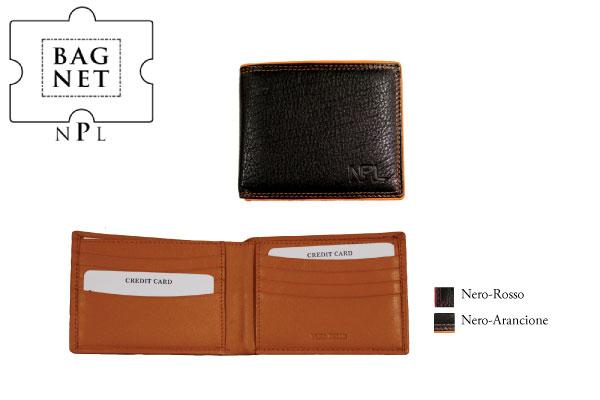 Portafoglio porta carte di credito NPL Nettuno